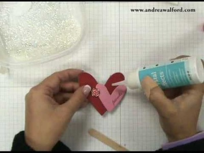 Stampin' Up! Tutorial: Part 1 Valentine's Glassine Bag Treat Holder