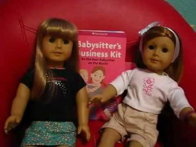 The Mia and Tiffany Show #4: Review On The American Girl Babysitter's Kit.Guide