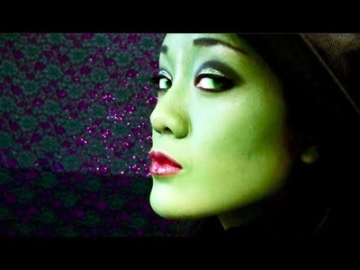 ☄The Wicked Witch - Elphaba Makeup Tutorial