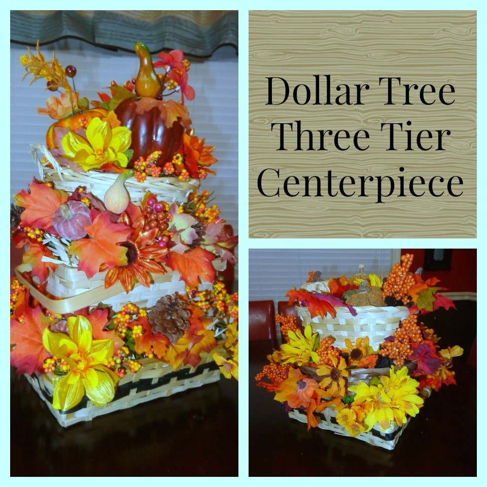 Three Tier Basket Fall Flower Arrangement