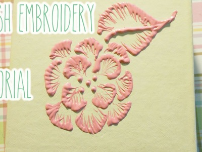 Brush Embroidery Deco Box Tutorial