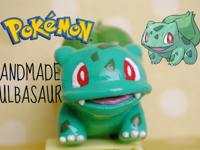 BULBASAUR Polymer Clay Pokemon