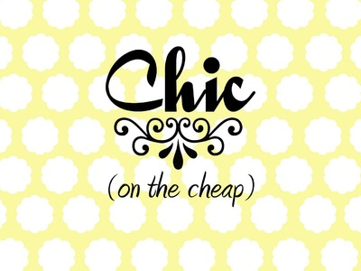 Chic on the Cheap: Double Dress Makeover