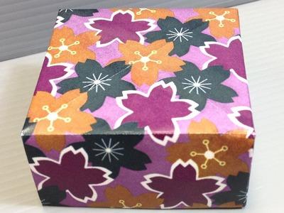 Chiyogami Sakura Cherry Blossoms Pattern Origami Paper