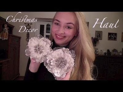 Christmas Decor Haul! | Chanelette