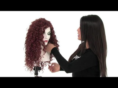 Costume Wig | Dare by Risque Wigs | Color: Red
