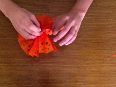 Decorative Tissue Paper Fan