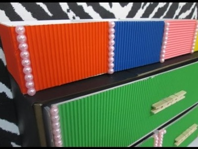 DIY : #66 Colorful Drawer With Pearls ♥