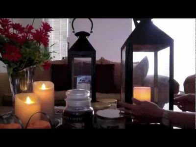 Home Decor Haul (Candles.Lanterns.Glittery Pumpkin)