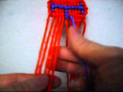 How To Make A Alpha Friendship Bracelet With The Letter H