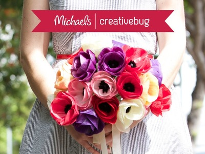 How To Make A Paper Flower Bouquet | Class Preview