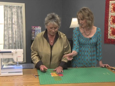 How to Make Colorful Quilted Coasters with Carol Ann Waugh, Part 2