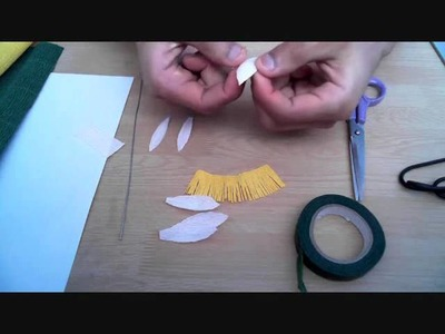 How to make paper flower clementis