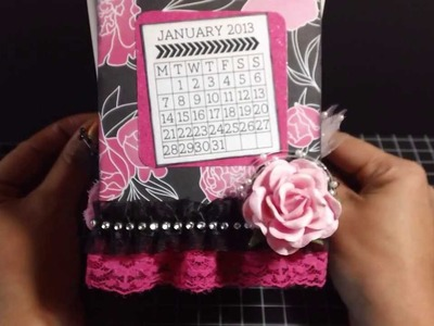 Ikea Frame Flip Calendar and Mini Album **Scrappin' Queens of 2013 ~YT Hop**