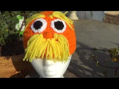 Lorax Character Beanie Tutorial - Right Handed