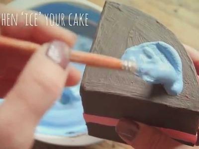 Make your own pretend cake