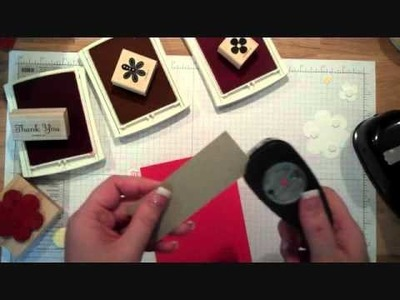 Making Covered Buttons with Stampin' Up! Ribbon