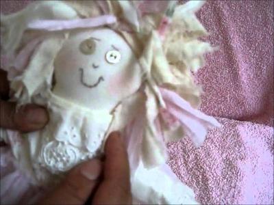 Must C Gorgeous handmade Victorian.shabby Raggerdy Rag Doll