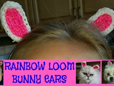 RAINBOW LOOM BUNNY EARS EASY - HOW TO