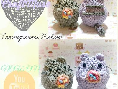 Rainbow Loom Loomigurumi (Inspired by Pusheen)