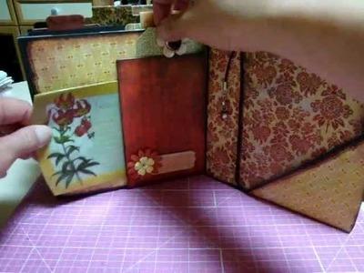"""Scrapbooking BASICGREY """"Curio"""" 6*6 paper bag mini album"""