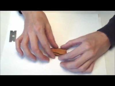 Striped Polymer Clay Cane Tutorial