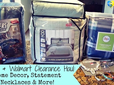 Target & Walmart Clearance Haul: Home Decor, Statement Necklaces & More!
