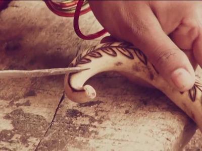 Tuma craft of Bastar - Tuma Craft in Making