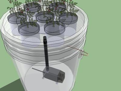 5 Gallon Bucket Aeroponics - The easiest aeroponics system to build - Full Class HD