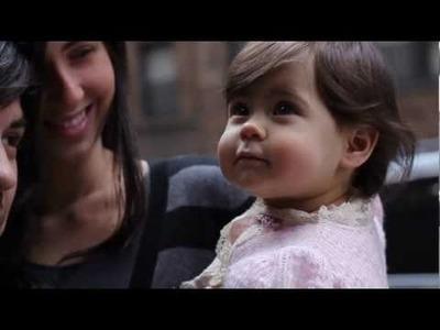 Baby Newborn Girl Sarah Discovers New York: Designer Baby Clothes