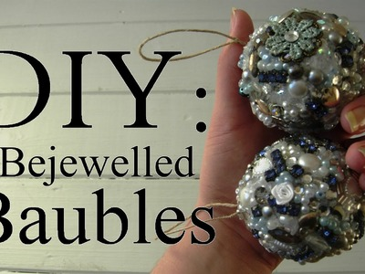 Eco-friendly Bejeweled Bauble Tutorial