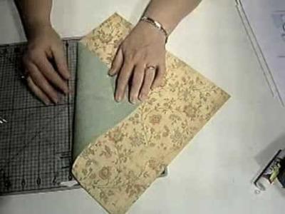 Folded Note Card Holder