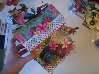 Garden Birdhouse Mini Album Kits