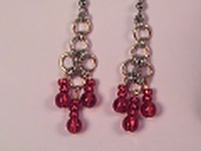 How to Create Chainmail Earrings