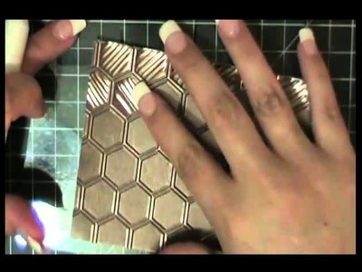 HOW TO DOUBLE EMBOSS METAL SHEETS