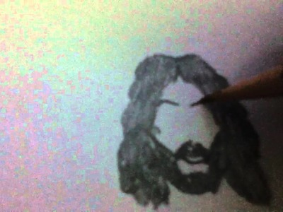 How to draw Jesus Christ easily