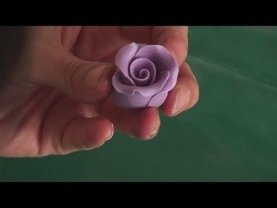 How To Form Fondant Roses