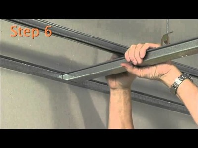 How to install Rondo KEY-LOCK® Suspended Ceiling System