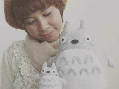 How To Make A Big Cuddly Totoro Plushie Tutorial