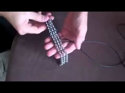 How to Make A Chain Leather Bracelet