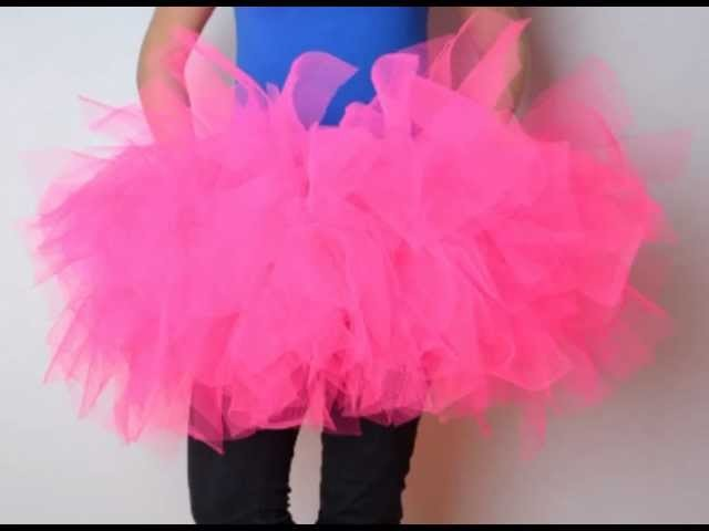 How to make a TuTu skirt!