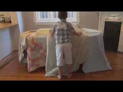 How to make an under the table cubby