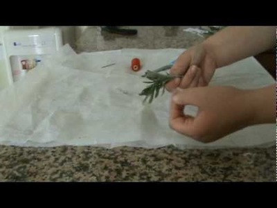 How To Make Protective Herb Bundles