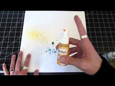 How To :: Splatter Mists & Paints