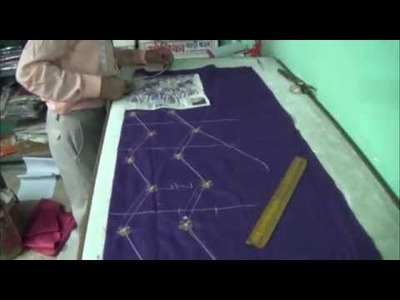Latest Design Kurti Cutting Video step by step. How To cut Kurti