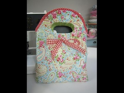 Little bow bag sewing tutorial by Debbie Shore