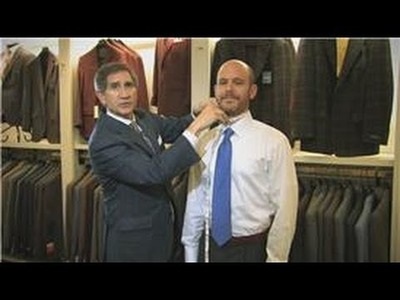 Men's Fashion Tips : How to Figure Out a Man's Dress Shirt Size