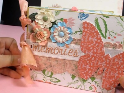 Mini Envelope Album with DCWV Garden Party