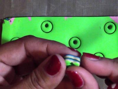 Mokume Gane-Like Polymer Clay Pen w.Inlaid Hearts Tutorial!