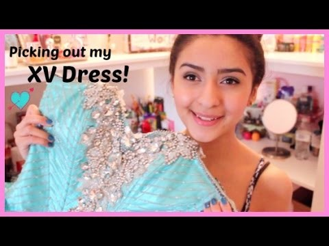 My Quinceañera Dress, Surprise Dance Outfit, & More!